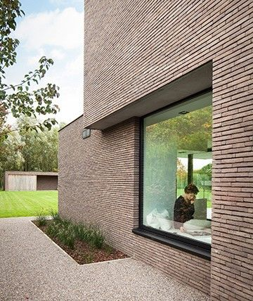 Moderne vrijstaande moderen gezinswoning in De Pinte | ABSBouwteam