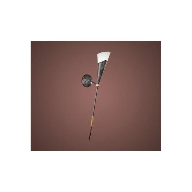 Eglo 86716 Mestre 1 light traditional wall light antique brown and gold finish - Wall Lights from Ocean Lighting UK