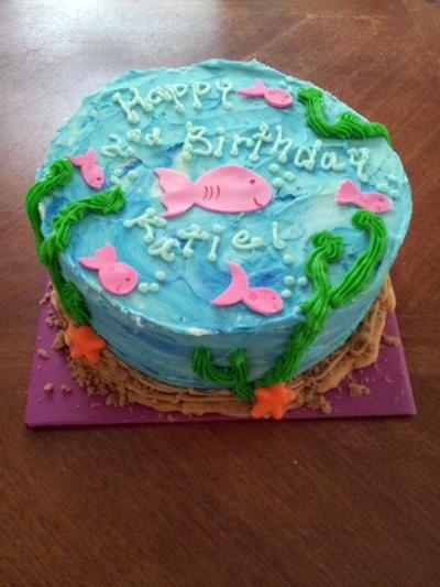 Best 25 aquarium cake ideas on pinterest finding nemo for Fish tank cake designs