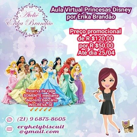 Aula Virtual Princesas Disney
