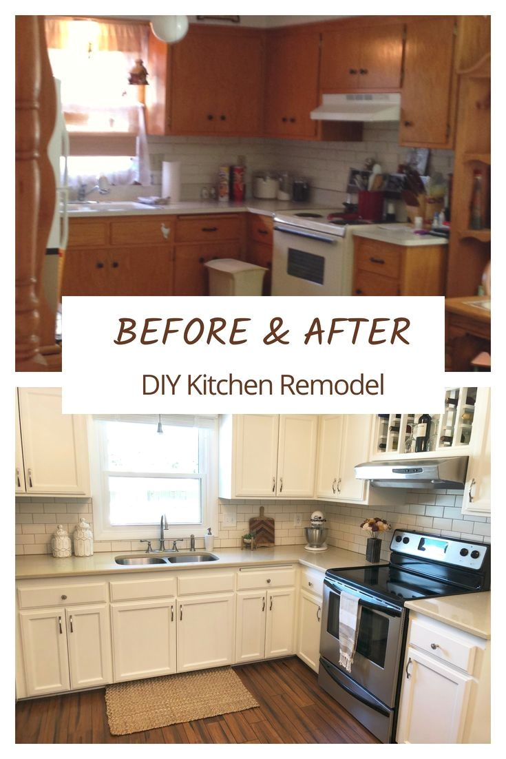 How To Paint Kitchen Cabinets The Right Way The Handcrafted Haven In 2020 Diy Kitchen Renovation Kitchen Diy Makeover Diy Kitchen Remodel