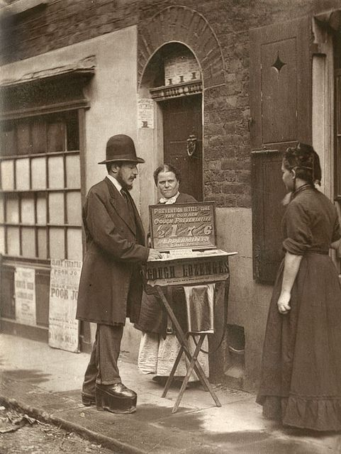 Street Doctor  From 'Street Life in London', 1877, by John Thomson and Adolphe Smith