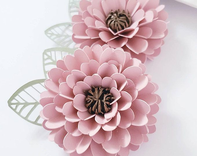 Easy Paper Flower Tutorial Paper Flower Templates Ashley