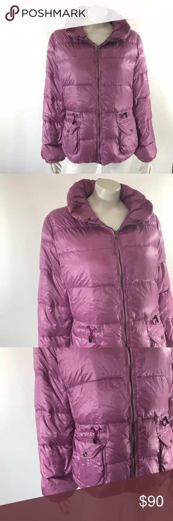 Max Mara Weekend Puffer Coat 14 Purple Down Filled Max Mara Weekend Womens Puffer Coat Sz 14 Light Purple Down Filled Cinched Waist. Measurements: (in inches) Underarm to underarm: 22 Length: 23 Sleeve: 24 Good, gently used condition Max Mara Jackets & Coats Puffers