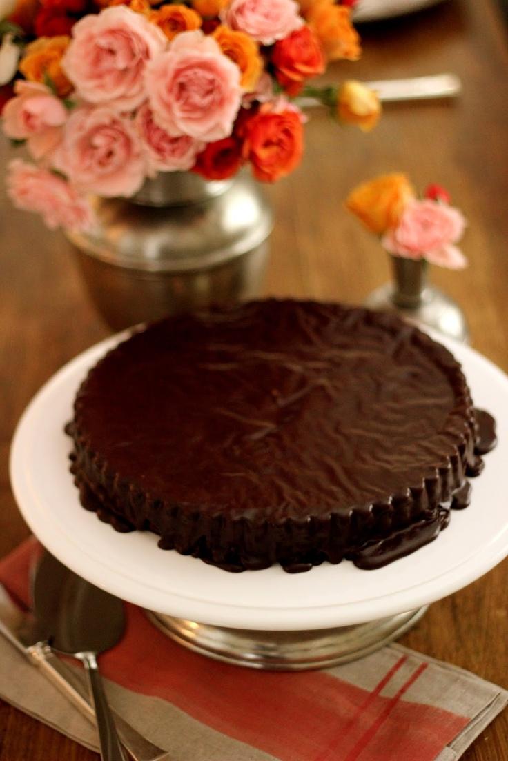 Ina Garten Chocolate Cake With Ganache