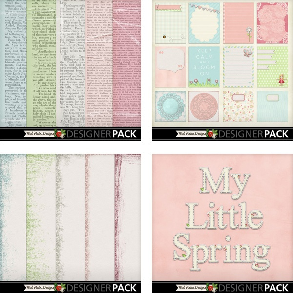 "Add On's for ""My Little Spring"""