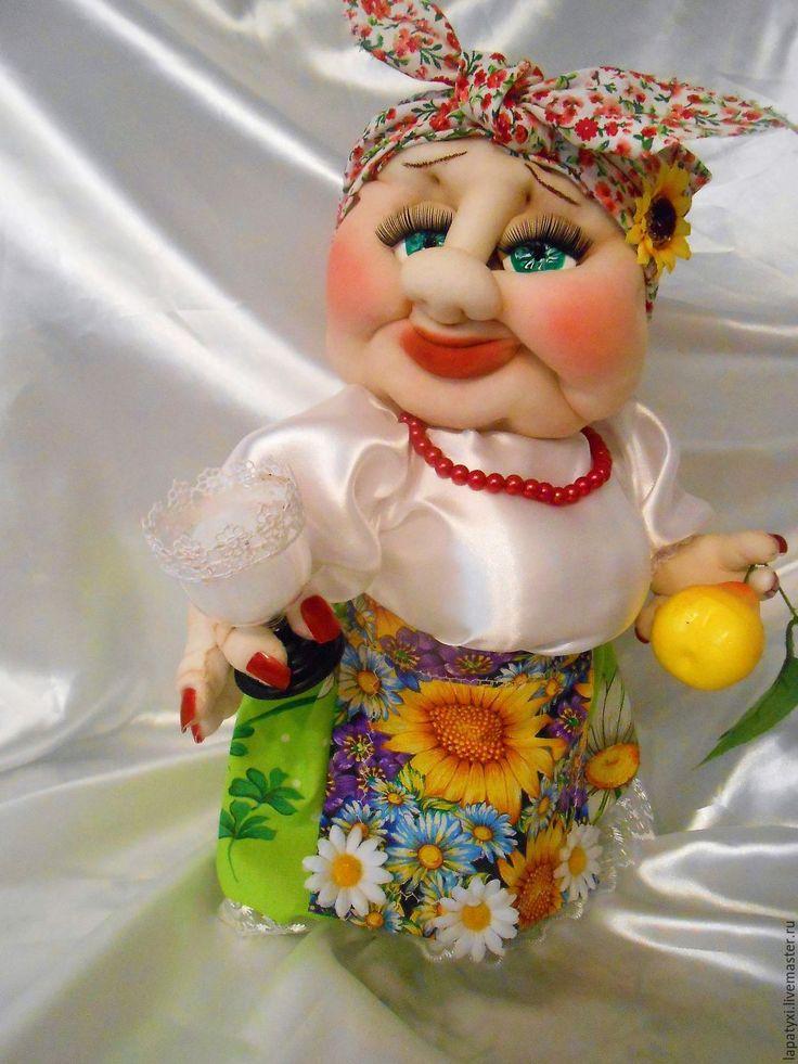 Купить Кукла мини бар Солоха ! - кукла ручной работы, мини бар