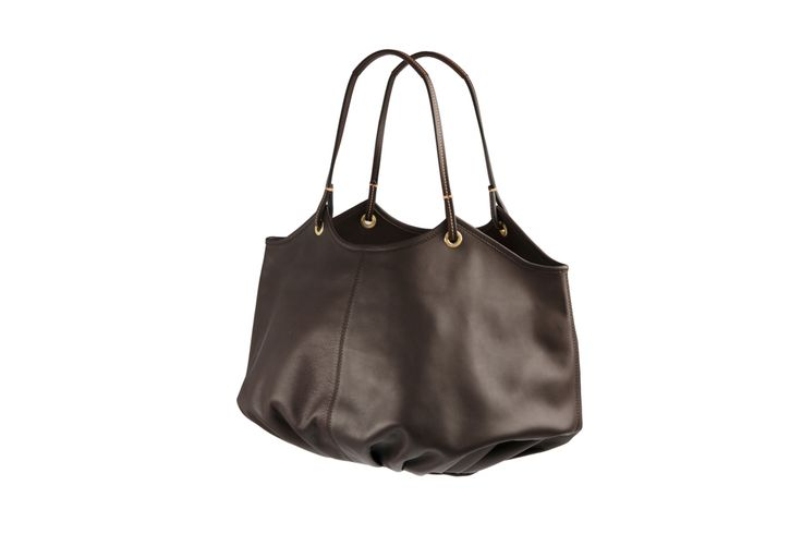 With thoughtful touches such as the interior leather key strap - The Chocolate Talega