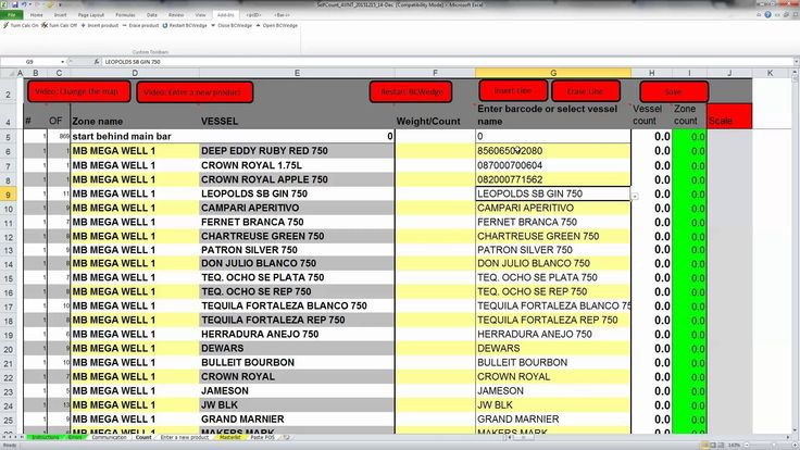 Free liquor inventory spreadsheet inventory management