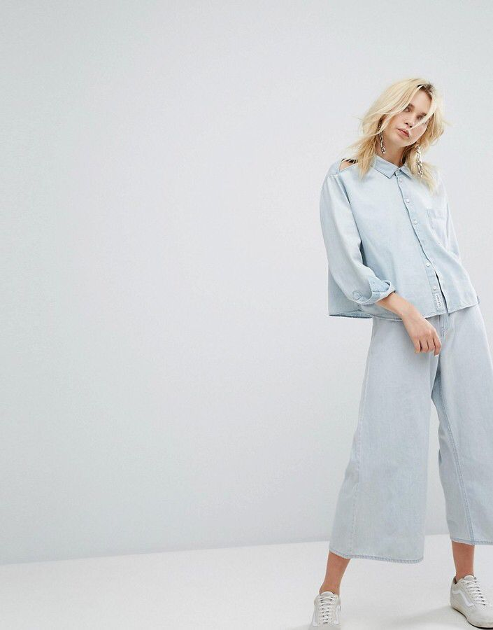 Cheap Monday – Kurze Jeans mit weitem Beinschnitt #shoppingaddict #currentlywearing #fashionaddict #shopaholics #ootd #gooddeal #fashion #beauty #woman #style #shopping #outfit #ad #shop #onlineshop #inspiration #loveshopping #bestdressed #shopnow #fashionista #trendy #trends #clothes #design #lifestyle #fashionminds #look #clothing #styleinspiration #pink #blue #red #jeans #shopstyle