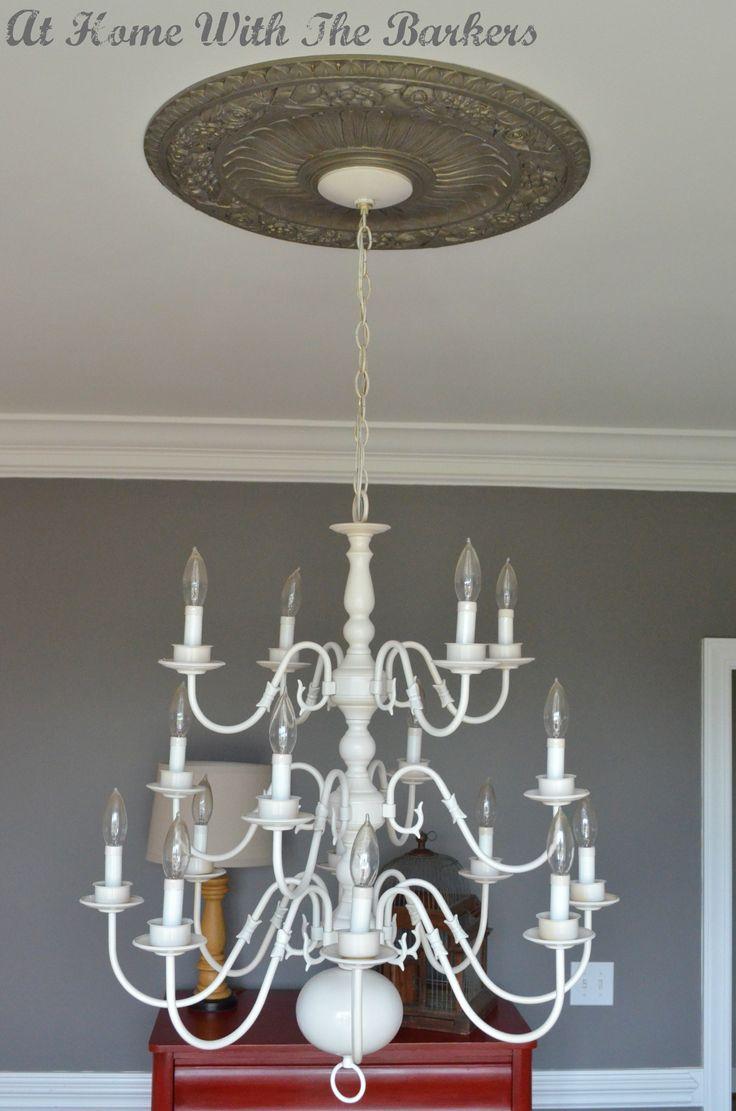 brass chandelier makeover chandeliers and brass chandelier. Black Bedroom Furniture Sets. Home Design Ideas
