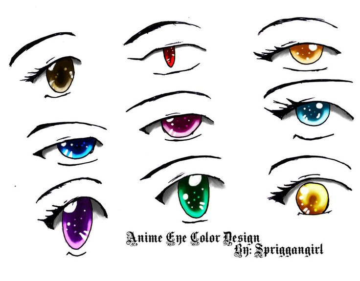 Anime Eyes Color Hd Images 3 | anime eyes | Pinterest ...