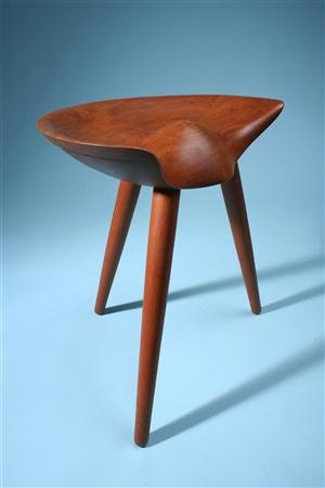 Good Three Legged Stool, Designed By Mogens Lassen For K. Thomsen Amazing Ideas