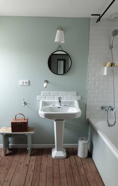 46 best Salle De Bains images on Pinterest Bathroom, Bathrooms and