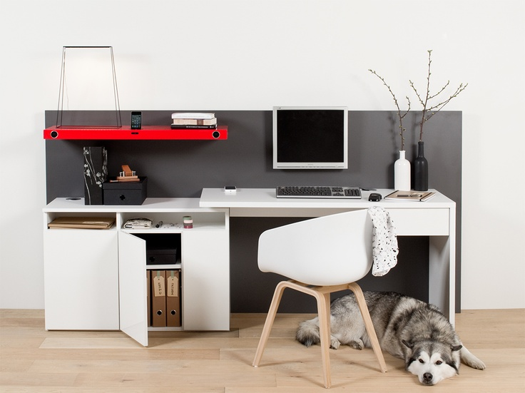 Lundia custom made workspace