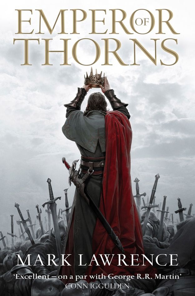Emperor of Thorns, by Mark Lawrence | The 12 Greatest Fantasy Books Of The Year