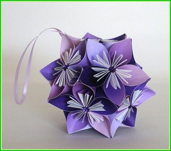 origami flower ball wedding projects to try pinterest