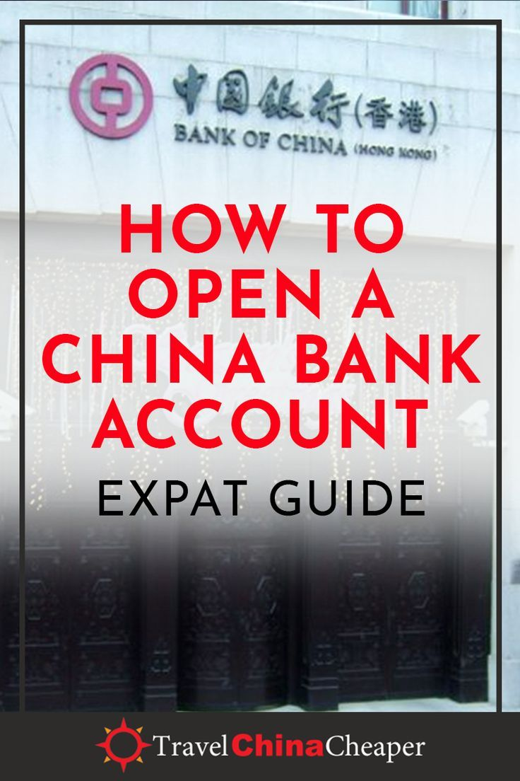 How To Open A China Bank Account As A Foreigner Non Chinese In