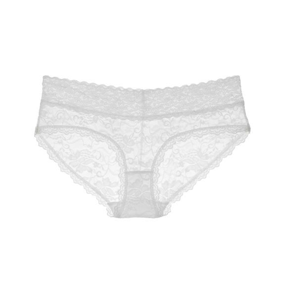 Ivory True&Co. Best Lace Hipster Ever Panty