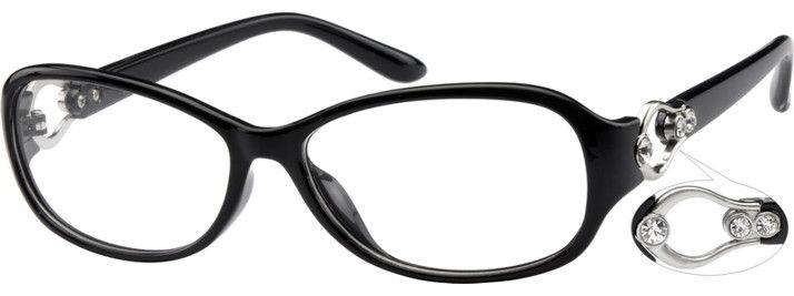 Hipster Glasses Zenni Optical : Stylish Plastic Full-Rim Frame 282036 Popular, For women ...