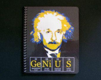 Einstein Genius Journal Notebook ElementeesTM for the nerd in you