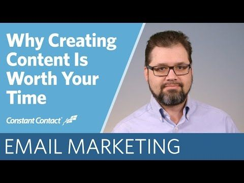 If you're unsure about the benefit of content marketing for your business, take two minutes to watch our newest video on why creating content can pay off and give you great results.