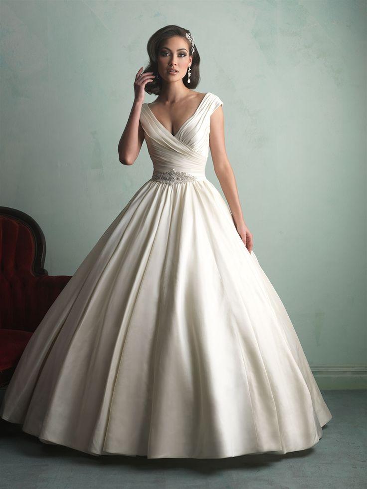allure bridals wedding gown 9155