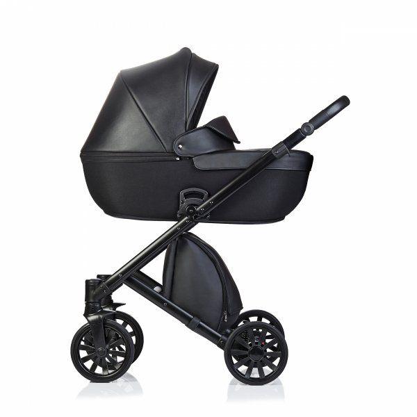 Anex E Type Noir Black Kombi Kinderwagen 2 In 1 Mit Babywanne Und Sportwagen Oder 3 In 1 Mit Autoschale Kinderwagen Kinder Wagen Baby Ausrustung