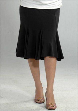 Women's Lauren Kiyomi Jersey Fish Tail Skirt (Maternity) - More Colors Available, S, Black Lauren Kiyomi. $76.00