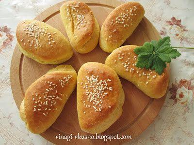 Хлебчета с яйца/ Small buns