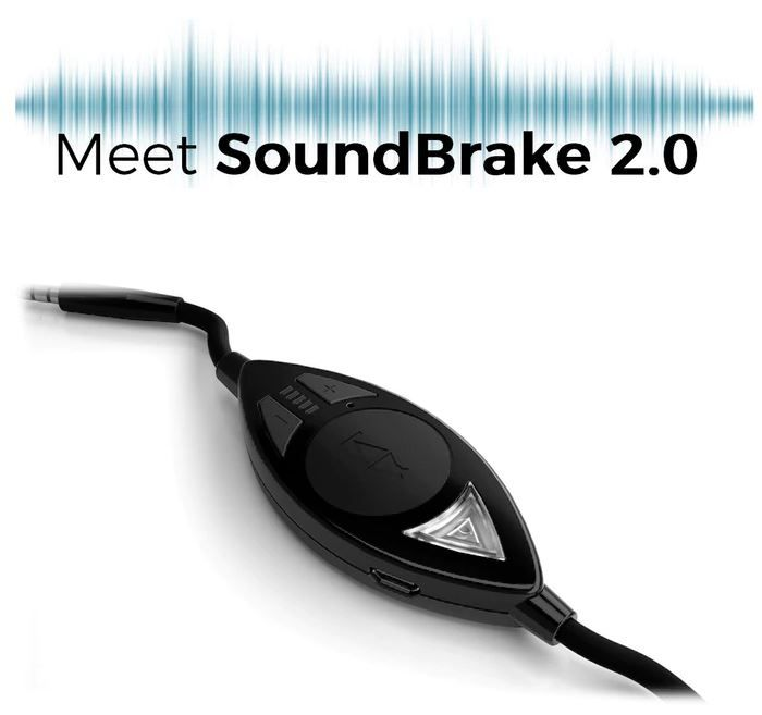 SoundBrake 2.0 is the world's first device that gives your headphones the power to alert you to outside sounds while you're immersed in your audio and tuned out from the world...available for pre-order through Indiegogo InDemand. #tech #headphones #gadget #indiegogo #audio