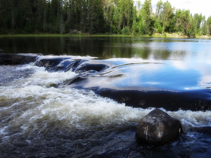 Morgan Falls, Kenora, ON...So Many Good Memories