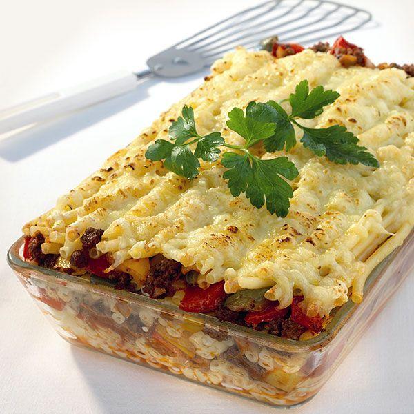 Ovenschotel met macaroni en paprika Recept | Weight Watchers Nederland