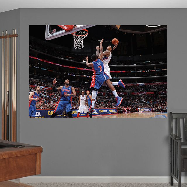 306 best images about nba basketball teams players for Basketball mural