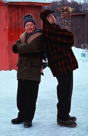 Grumpy Old Men (1993) This movie, is like watching a real-life re-enactment of my family. And could potentially be why I love the real thing. The older, and more cantankerous-the more I want to squeeze them!