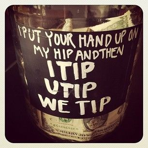 This banger. | 27 Tip Jars That Are Too Clever To Resist