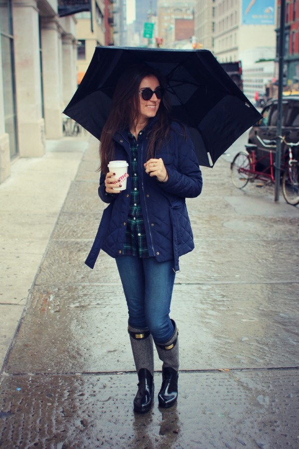 Post image for The Easiest Rainy Day Denim Look… Ever?