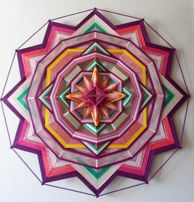 Mandalas Olho de Deus: A Cor Rosa na Mandala