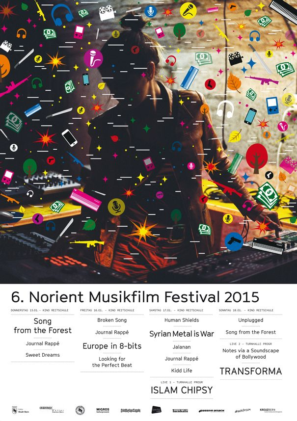 6. Norient Musikfilm Festival (15-18.1.2015) in Bern and St. Gallen!