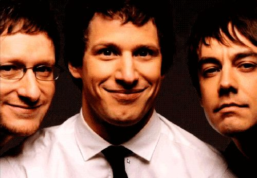 Funniest man alive. Love Andy Samburg and the lonely island