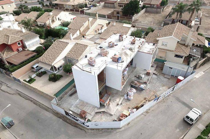 Construcción de vivienda unifamiliar. Arquitania Business