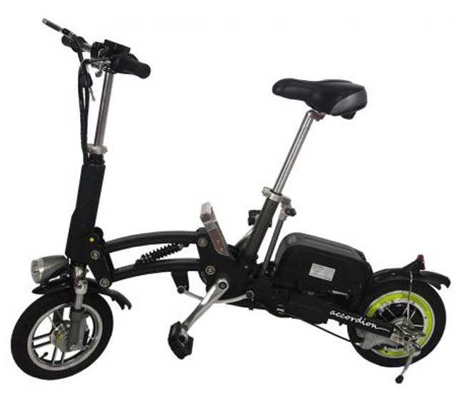 Accordion Bravus Bike, la bicicleta eléctrica plegable total