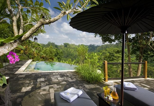 Très belle villa tropicale à Ubud, Bali: location de luxe #BaliTropical #balineseLifeStyle #locationLuxe