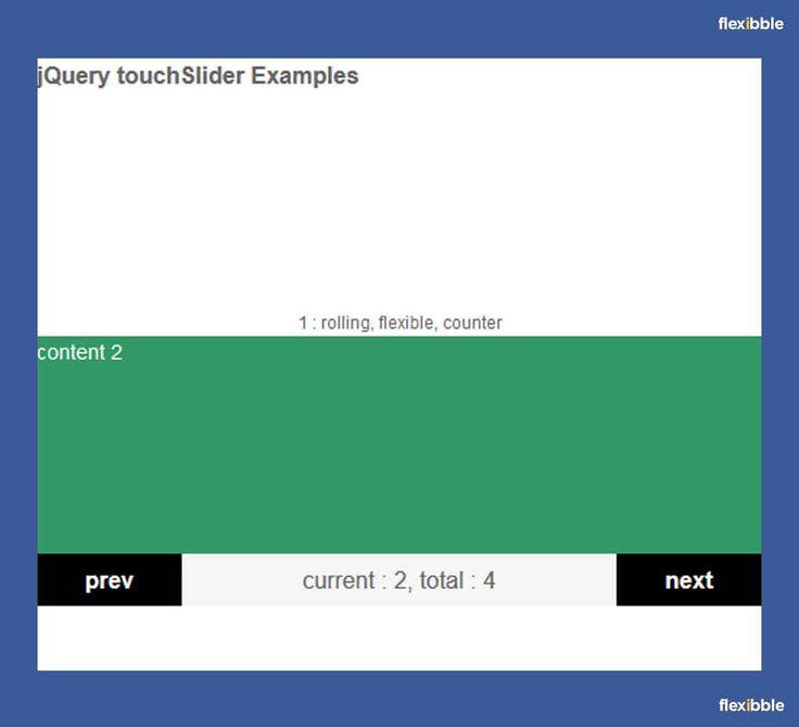 TouchSlider – Free Mobile-Friendly #jQuery Slider Plugin
