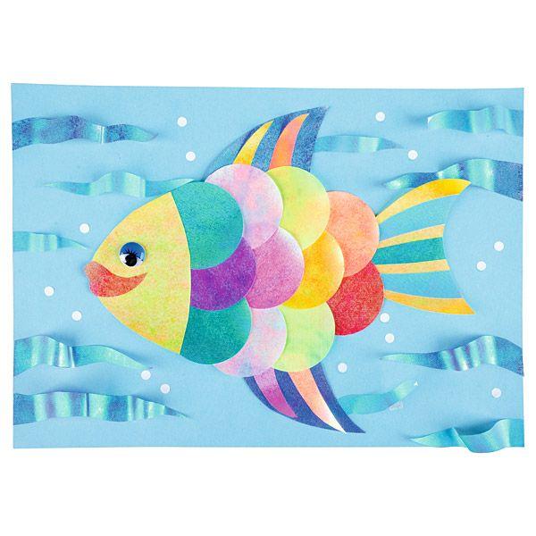 Złota rybka z papieru  http://www.mojebambino.pl/boze-narodzenie/364-papier-mieniace-sie-kolory.html