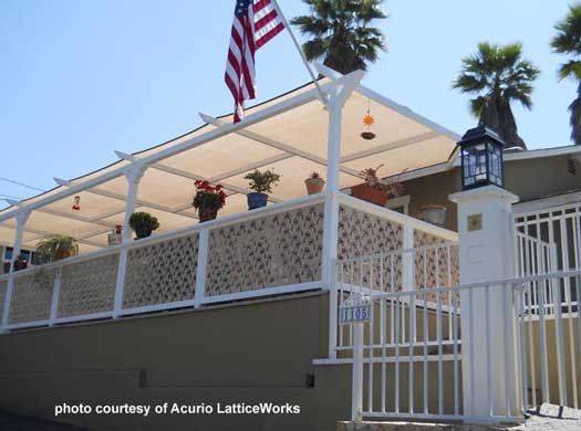 Vinyl Lattice Panels Pinterest Porch Roof Vinyls And