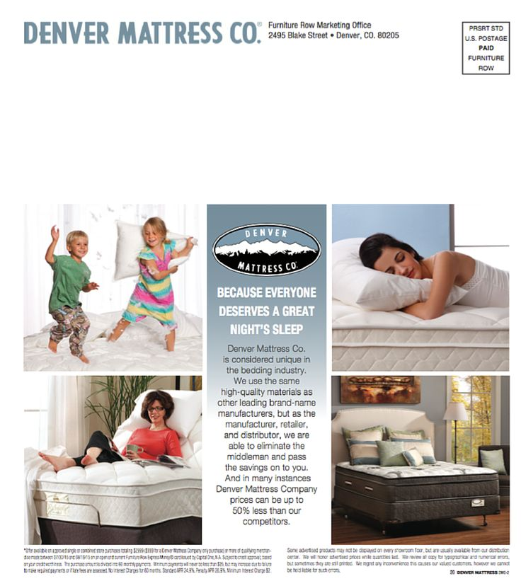 browse the denver mattress better sleep catalog by clicking the image or following our board - Denver Mattress Company