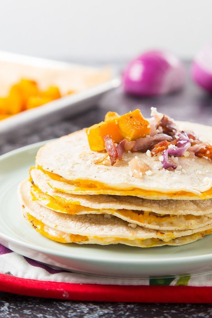 Kabocha Squash and Bacon Mulitas | The Missing Lokness