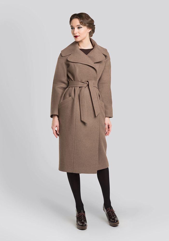 пальто беж винтажный стиль