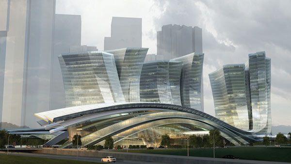 Largest Underground High-Speed Rail Station  <3 !